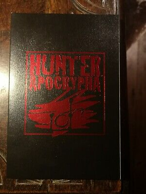 Hunter Apocrypha - The Reckoning White Wolf World Of Darkness Rpg Roleplaying Ww • 20.99£