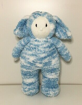 Hand Knitted Bunny Doll • 20£