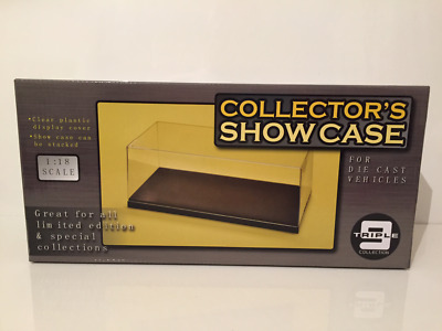 Die Cast Model Collectors Display Case New 1:18 Scale Stackable NEW • 14.95£