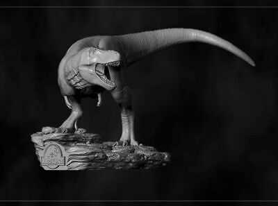 95mm Resin Figure Model Kit Jurassic Park Tyrannosaurus Rex Unpainted Unassamble • 30.16£
