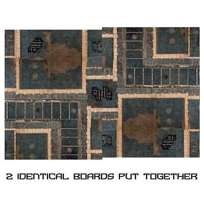 -- SECTOR IMERIALIS GAMING BOARD (combinable) -- Kill Team Starter Warhammer 40k • 18.50£