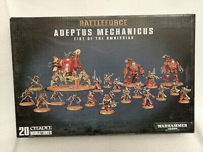 Games Workshop 40K Battle Force Adeptus Mechanicus Fist Of The Omnissiah • 160£