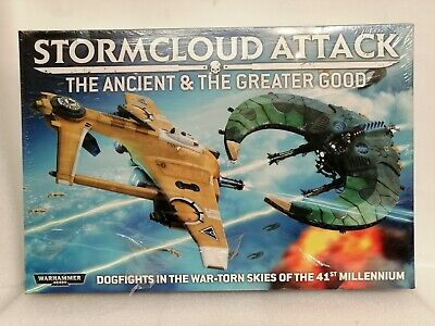 Games Workshop 40K Stormcloud Attack The Ancient & The Greater Good • 160£