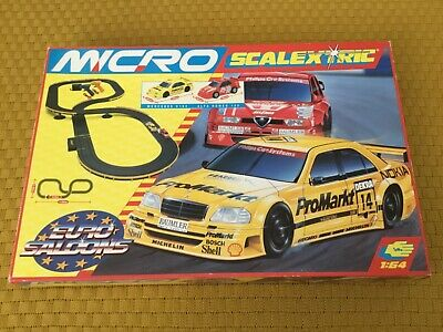 Micro Scalextric  1:64  G.092   Old & VERY RARE   Euro Saloons • 39.75£