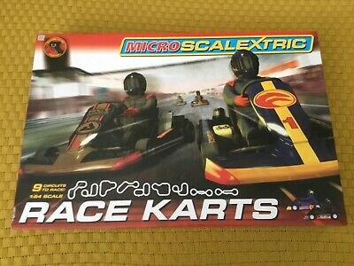 Micro Scalextric 1:64  G1120   Race Karts • 34.40£