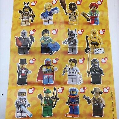 Genuine Lego Minifigures From  Series 1 Choose The One You Need • 9.99£