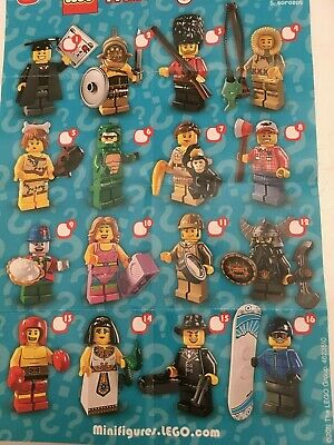 Genuine Lego Minifigures From Series 5 Choose The One You Need • 6.99£