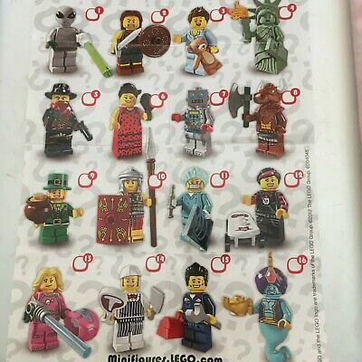 Genuine Lego Minifigures From Series 6 Choose The One You Need • 7.99£