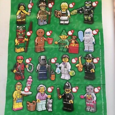 Genuine Lego Minifigures From  Series 11 Choose The One You Need • 6.99£