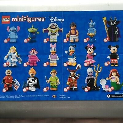 Genuine Lego Minifigures From Disney Series 1 Choose The One You Need (new) • 9.99£