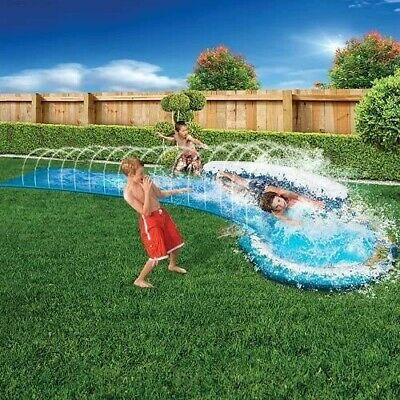 Banzai Speed Curve Water Slide 16ft Length X 28  Wide Outdoor Toy Free Postage • 25.99£