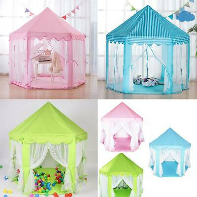 Childrens Kids Baby Pop Up Play Tent Fairy Girls Boys Playhouse Indoor Outdoor • 14.39£