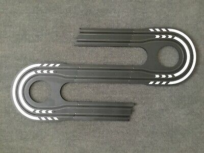 Micro Scalextric 1:64   Double Hairpin With 3 X 9 Inch Straights • 6.45£