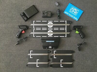 Scalextric Arc One  Powerbase / Hand Controllers / Transformer / 2 X Start Grids • 22.45£