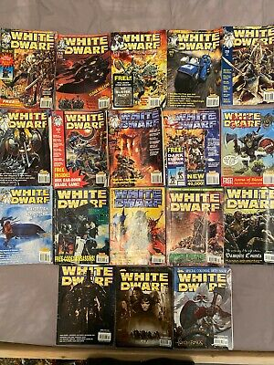 White Dwarf Bundle Of 18 INCLUDING Rare Free Games And Poster Warhammer GW Rare • 29.99£