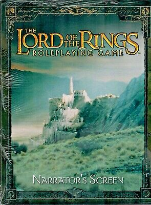 The Lord Of The Rings Roleplaying Game - Narrator's Screen • 29.99£