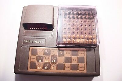 RETRO Applied Concepts INC 1979 BORIS Diplomat Electronic Chess Computer 075888 • 69.99£