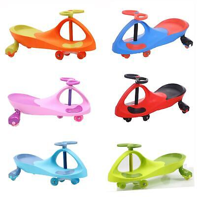 Swing Car Ride On Swivel Scooter Wiggle Gyro Twist & Go Kids Ride-on Car • 21.99£