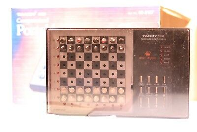 Vintage Tandy 1650 Computerised Chess Set 60-2187 • 39.99£
