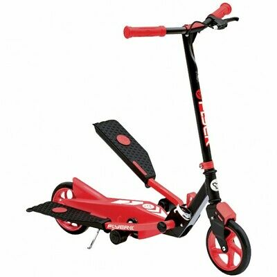 NEW Y Volution Y Flyer Push Scooter Red RRP £79 Foldable • 39£