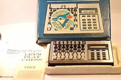 Rare Vintage Chess Computer Acetronic & Scisys  Made In Hong Kong 1980's • 39.99£