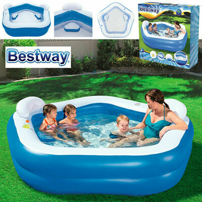 Bestway 7ft Inflatable Family Lounge Patio Garden Outdoor Paddling Swimming Pool • 49.75£