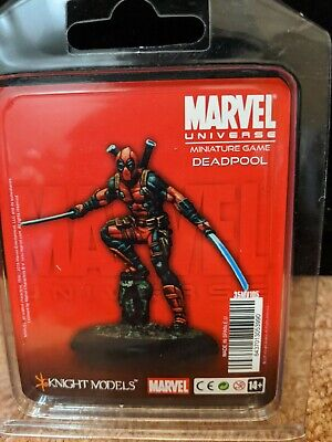 Marvel Knight Miniatures Game Deadpool X-men • 50£