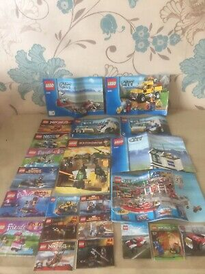 Lego Instructions Manuals Bundle • 8.99£