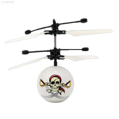 E91B ABS Skull Airplane USB Charge Helicopter Automatic Protection Expression • 7.84£