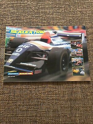 Scalextric Catalogue 38th Edition • 8£