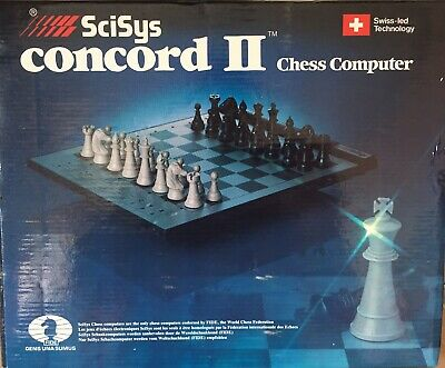 SciSys Concord 2 Chess Computer Complete And Working • 49.99£