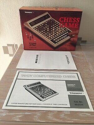 Tandy Computerized Chess Game !!!!! Cool!!!! • 25£