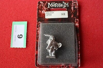 Games Workshop Mordheim Reiklander Captain New Warhammer Metal Figure Empire New • 24.99£