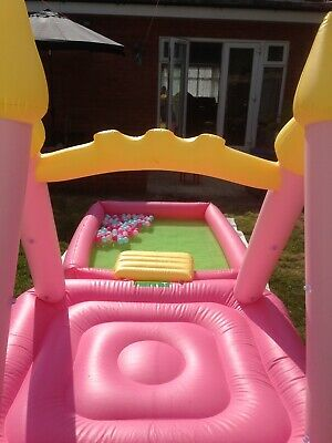 Kids Garden Paddling Swimming Pool With A Kids Inevitable Bouncy Castle • 99£