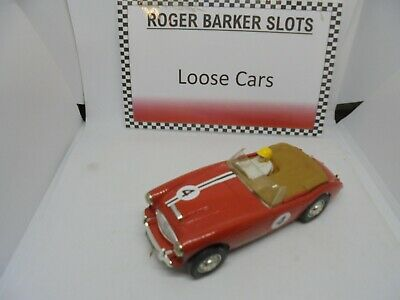 Scalextric C93  Race Tuned   Austin Healey Red #4   Unboxed Bargain   • 55£