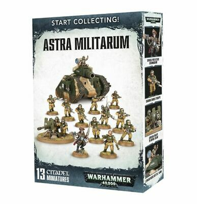 Start Collecting! Astra Militarum • 48£