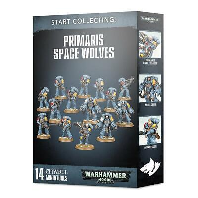 Start Collecting! Primaris Space Wolves • 52£