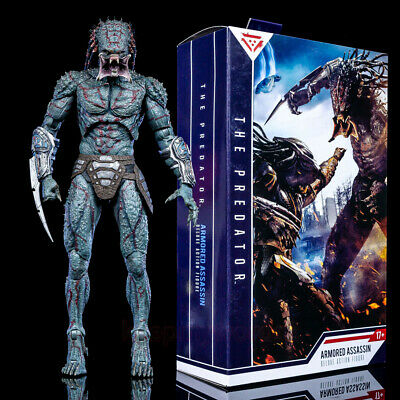 NECA The Predator 11  Deluxe Action Figure Armored Assassin Toy Collection Gift • 36.99£