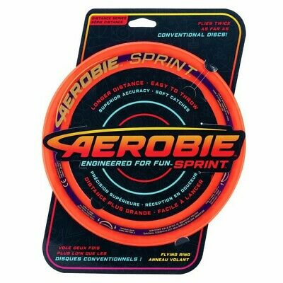 Aerobie 10  Sprint Flying Ring NEW • 8.50£