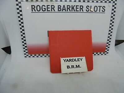 Scalextric C51/103  Yardley  BRM F1 Rear Wing Re Make Tampo Printed New Product  • 4.95£