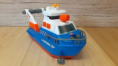 Dickie Toys Explorer Boat With Lights & Sound • 12.50£