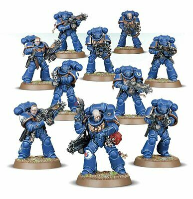 10 X Space Marines Primaris Intercessors -  Games Workshop Warhammer 40,000 • 34.50£