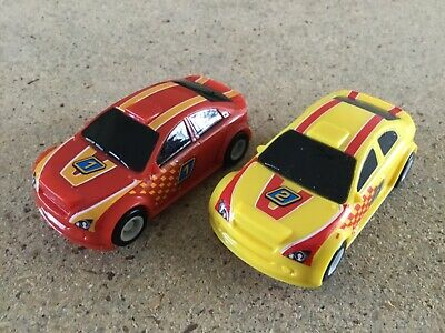Micro Scalextric 1:64   Pair Of Cars  #1 & 2 • 14.25£