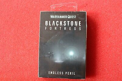 Games Workshop Warhammer Quest Endless Peril Blackstone Fortress Cards BNIB GW • 99.99£