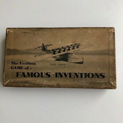 Vintage Famous Inventions Card Game • 20£