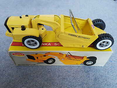 Vintage 1970's Mini-Tonka Scraper No.1091 - Boxed - Excellent • 139.99£