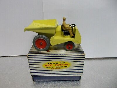 Dinky Super Toy 962 Muir Hill Dumper Truck Boxed 1954 • 49.99£