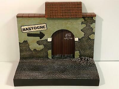 1:18 Scale Resin Backdrop WWII To Bastogne Ideal For 1:18 Scale Models AWBD001B • 49.99£
