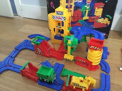 Tomy Big Big Loader Construction  Set Boxed Tracks Vintage • 22£
