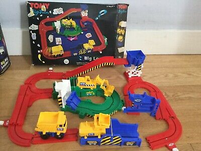 Tomy Big Loader Construction  Set Boxed Tracks Vintage  • 22£